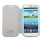 Samsung Galaxy S III i9300 Side Open Classical Protective Leather Case