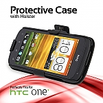 HTC One X Protective Case with Holster