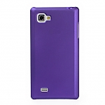 LG Optimus 4X HD P880 Rubberized Back Hard Case