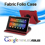 Google Nexus 7 Asus(2012) Rotate Stand Fabric Case