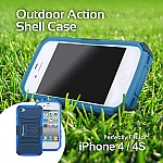 iPhone 4S Action Shell Case
