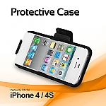 iPhone 4S Protective Case with Holster