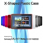 Samsung Galaxy Note 10.1 GT-N8000 X-Shaped Plastic Case