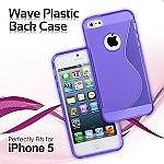 iPhone 5 / 5s / SE Wave Plastic Back Case