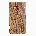 SONY Xperia Ion LT28i Woody Patterned Back Case