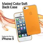 Matted Color iPhone 5 / 5s / SE Soft Back Case