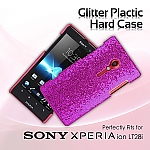 Sony Xperia ion LT28i Glitter Plactic Hard Case