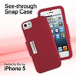 iPhone 5 / 5s / SE See-through Snap Case