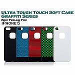 Momax iPhone 5 / 5s Ultra Tough Touch Soft Case - GRAFFITI Series