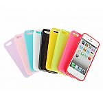 iPhone 5 / 5s / SE Shiny Dust Coating Silicone Case