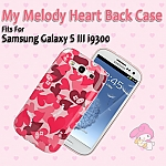 Samsung Galaxy S III I9300 My Melody Heart Back Case (Limited Edition)