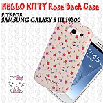 Samsung Galaxy S III I9300 Hello Kitty Rose Back Case (Limited Edition)
