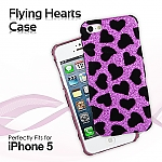 iPhone 5 / 5s / SE Flying Hearts Case