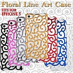 iPhone 5 / 5s / SE Floral Line Art Case