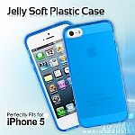 iPhone 5 / 5s / SE Jelly Soft Plastic Case