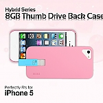iPhone 5 / 5s / SE Hybrid Series 8GB Thumb Drive Back Case
