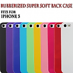 iPhone 5 / 5s / SE Rubberized Back Hard Case