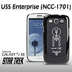 Samsung Galaxy S III i9300 Star Trek - USS Enterprise Top View Phone Case (Limited Edition)