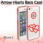iPhone 5 / 5s / SE Arrow Hearts Back Case