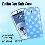 Samsung Galaxy S III I9300 Polka Dot Soft Case