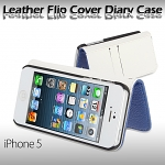 iPhone 5 / 5s Leather Flip Cover Diary Case
