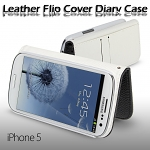 Samsung Galaxy S III I9300 Leather Flip Cover Diary Case