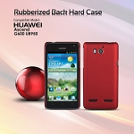 Huawei Ascend G600 U8950 Rubberized Back Hard Case