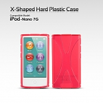 iPod Nano 7G X-Shaped Hard Plastic Case