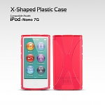 iPod Nano 7G X-Shaped Plastic Back Case