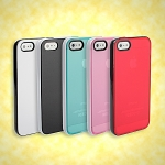 iPhone 5 / 5s Dual Color Soft Case w/ Bumper