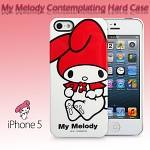 iPhone 5 / 5s My Melody Contemplating Hard Case (Limited Edition)