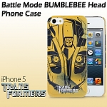 iPhone 5 / 5s Transformers - Battle Mode BumbleBee Head Phone Case (Limited Edition)