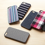Simplism Fabric Cover Set for iPhone 5 / 5s