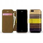 Zenus Prestige Natural Eel Diary Series For iPhone 5 / 5s