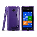 HTC Windows Phone 8X Wave Plastic Back Case