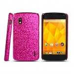 Google Nexus 4 E960 Glitter Plactic Hard Case