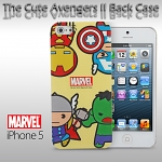 iPhone 5 / 5s The Cute Avengers II Back Case (Limited Edition)