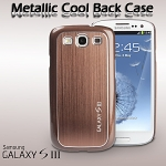 Samsung Galaxy S III I9300 Metallic Cool Back Case