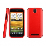 HTC One SV Shiny Dust Coating Silicone Case