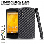 Google Nexus 4 E960 Twilled Back Case