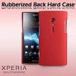 Sony Xperia Ion LT28i Rubberized Back Hard Case