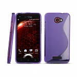 HTC Droid DNA Wave Plastic Back Case