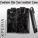 Nokia Lumia 820 Fashionable Flip Top Leather Case