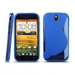 HTC One SV Wave Plastic Back Case