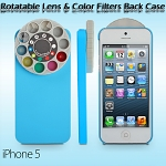 iPhone 5 / 5s / SE Rotatable Lens and Color Filters Back Case