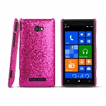 HTC Windows Phone 8X Glitter Plactic Hard Case