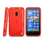 Nokia Lumia 620 Wave Plastic Back Case