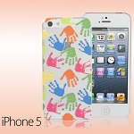 iPhone 5 / 5s Palm Prints Back Case