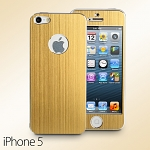 Metallic Skin Front/Rear Cover Set for iPhone 5 / 5s / SE