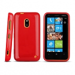 Nokia Lumia 620 Shiny Dust Coating Silicone Case